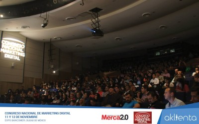 Aklienta en el Congreso Nacional de Marketing Digital 2015