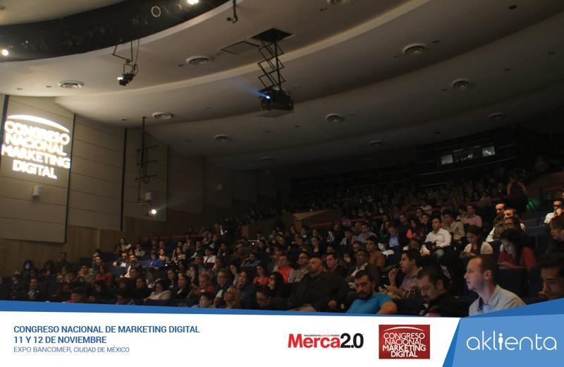Aklienta en el Congreso Nacional de Marketing Digital 2015
