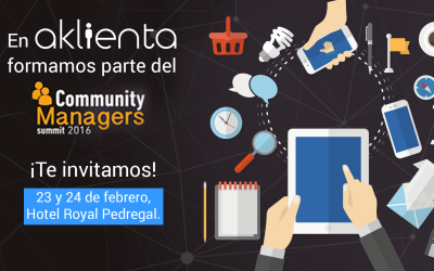 Aklienta, presente en el Community Managers Summit 2016