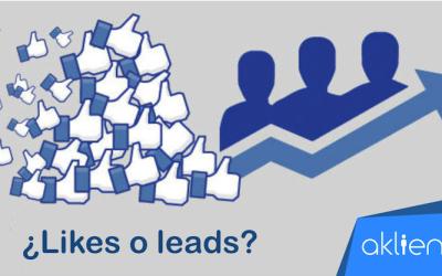 ¿Quieres Likes o Leads en tus Redes Sociales?
