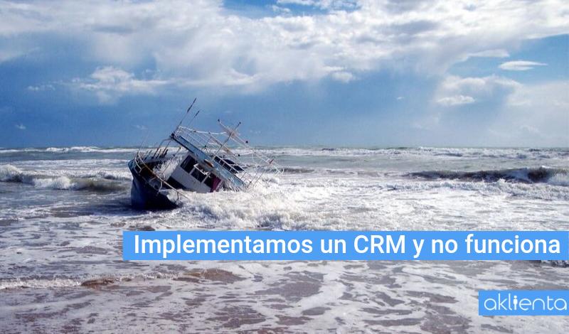 ¿Cómo rescatar el barco de tu CRM?